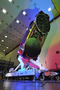 ViaSat 1 Satellite on display