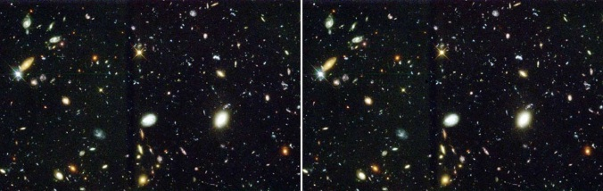 Hubble Deep Field Images