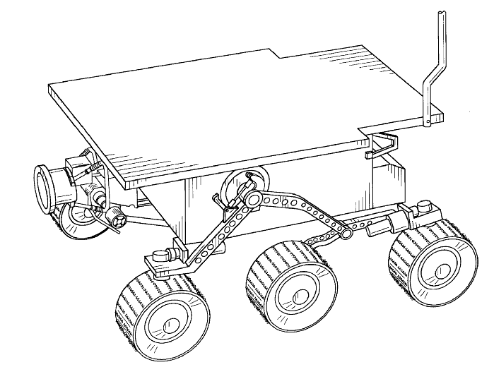 what was the design for the mars rover - photo #12